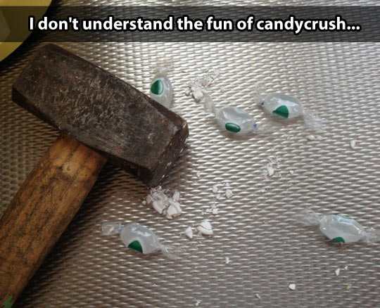 So I discovered Candy Crush…