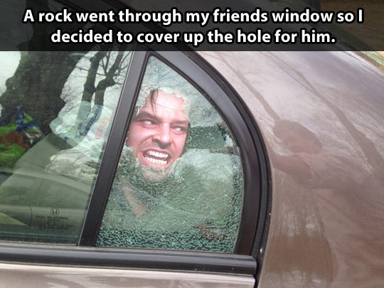 funny-car-broken-window-Shinning-sticker