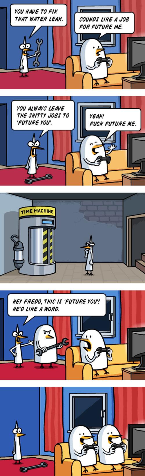Future me…