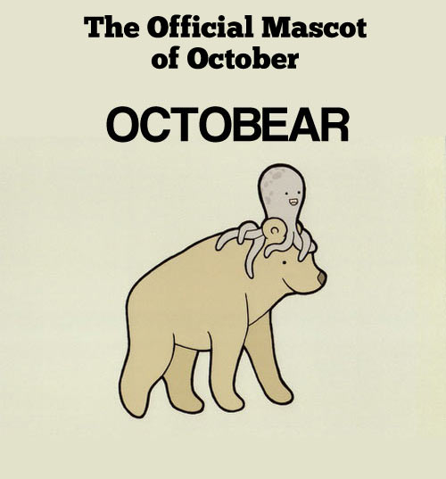 The official mascot of the month…