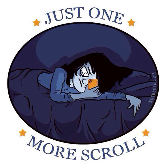 Me every night…