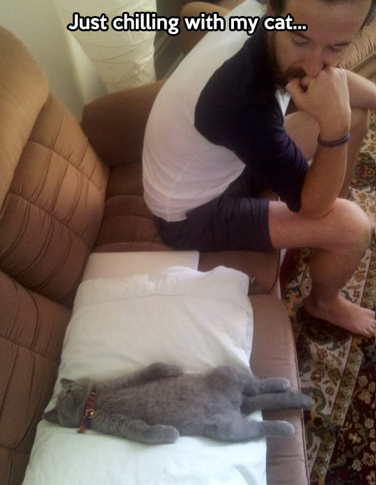 Sleeping so peacefully…