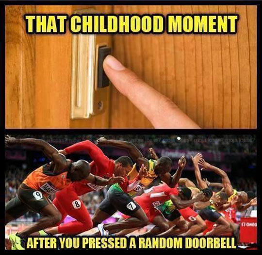 Childhood moments you never forget…