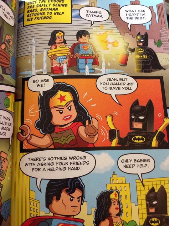 Proof Batman is the best superhero…