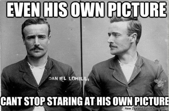 Ridiculously photogenic convict…