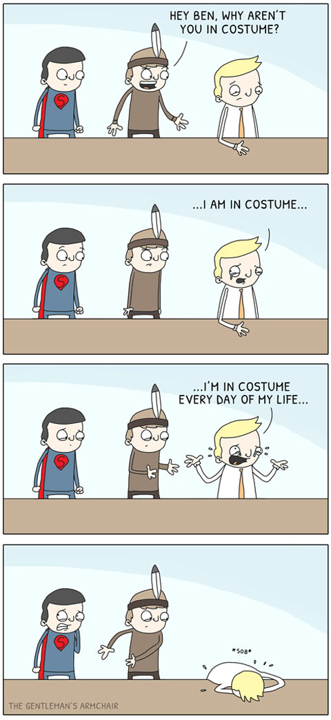 funny-costume-Halloween-guy-office-comic