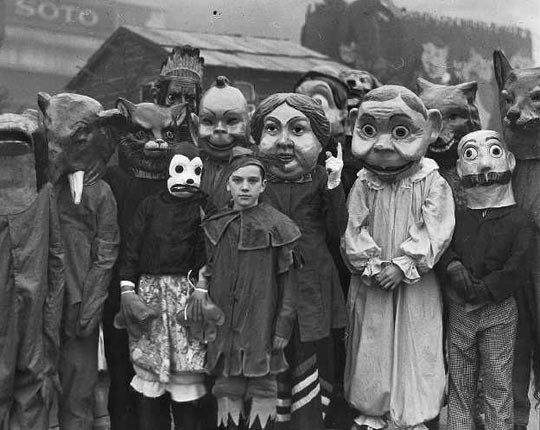 Halloween used to be really scary…