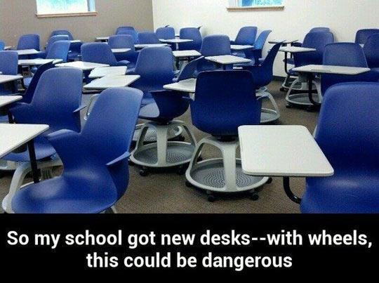 Classes just got a lot better…