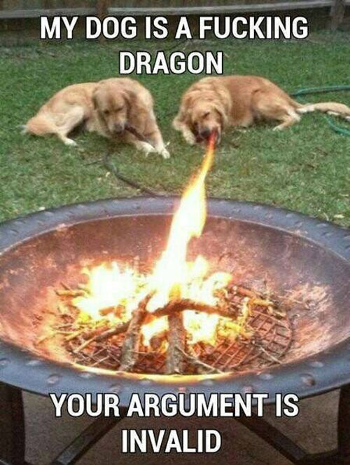 Your argument is invalid…