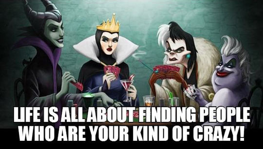 Finding your kind of crazy…
