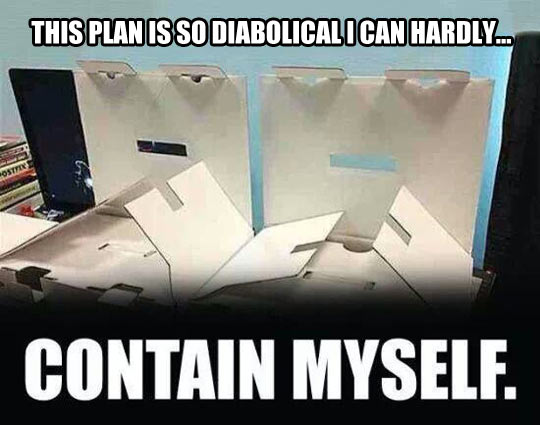 Evil boxes have a devious plan…