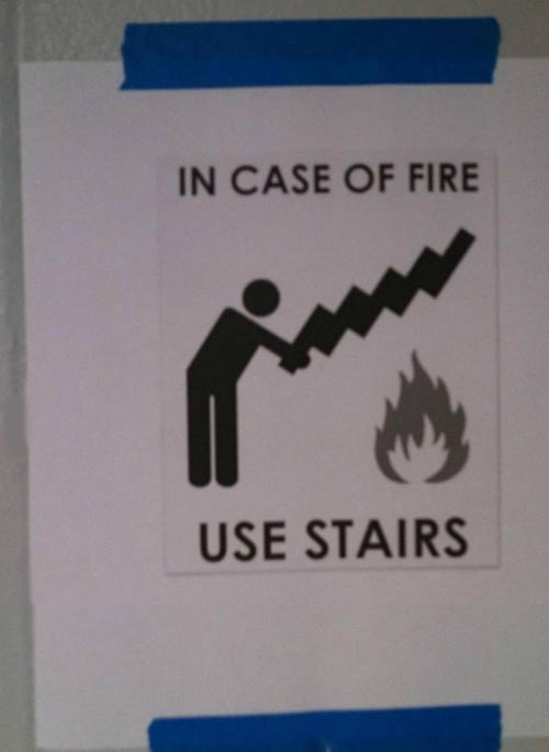 Fire safety 101…