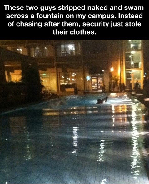 Best security guards ever…