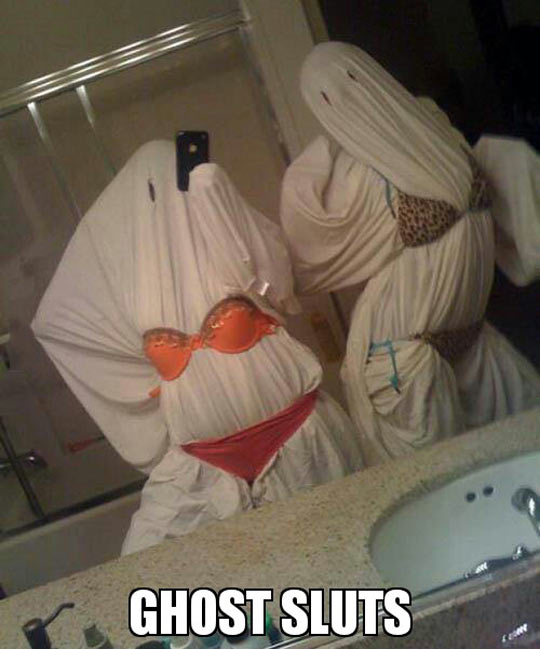 Cheap Halloween costume idea…