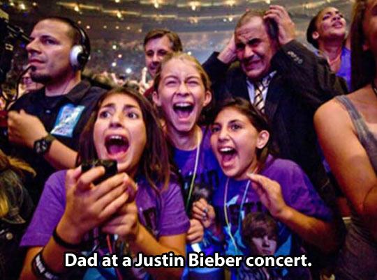 Poor dad…