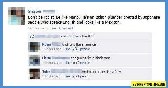 Be more like Mario…