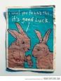 It's good luck…