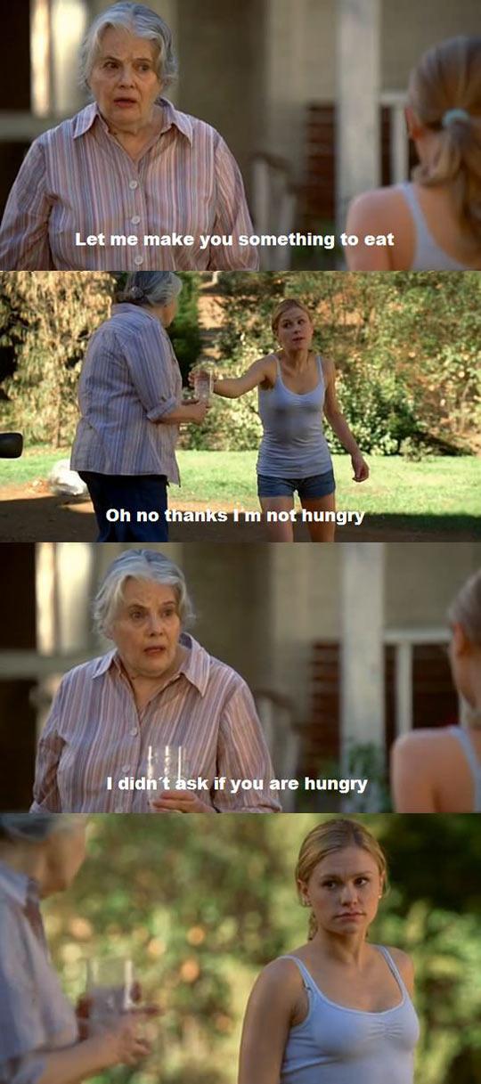 Never mess with grandma…