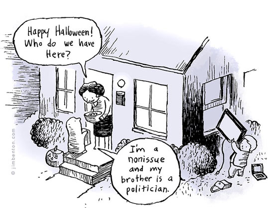 funny-house-Halloween-politician-ghost