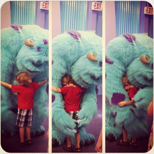 funny-hug-Monster-Inc-real
