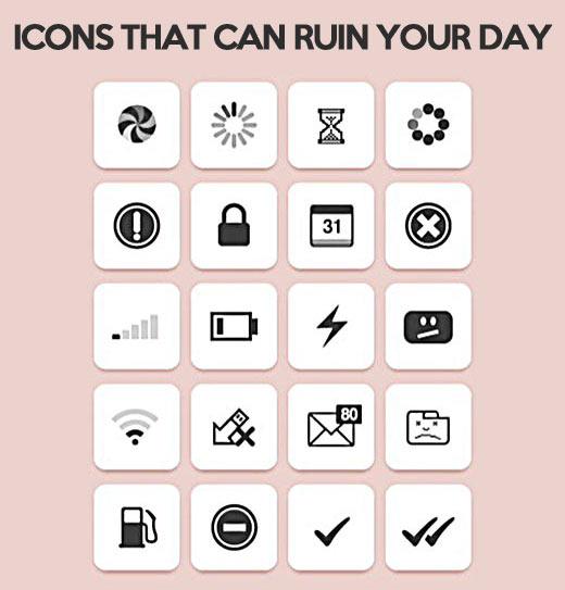 Icons nobody like…