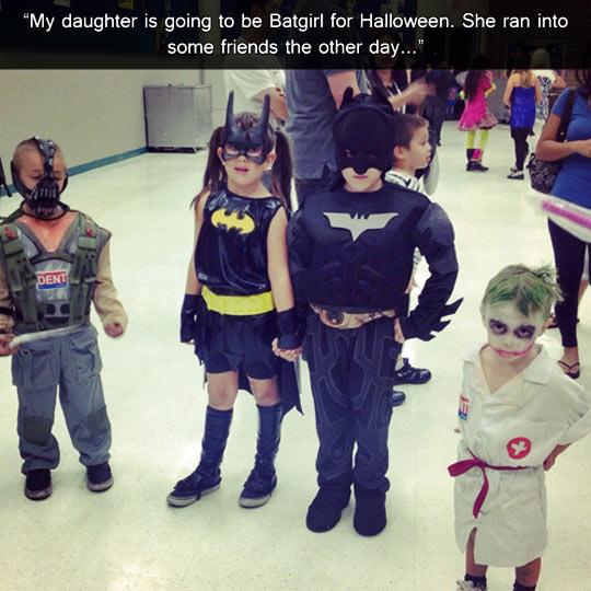 Batman and his friends…