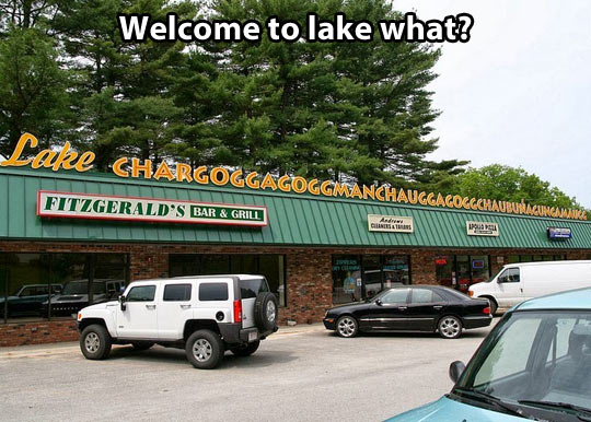 Welcome to the lake…