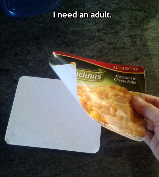 Adult required in the kitchen…