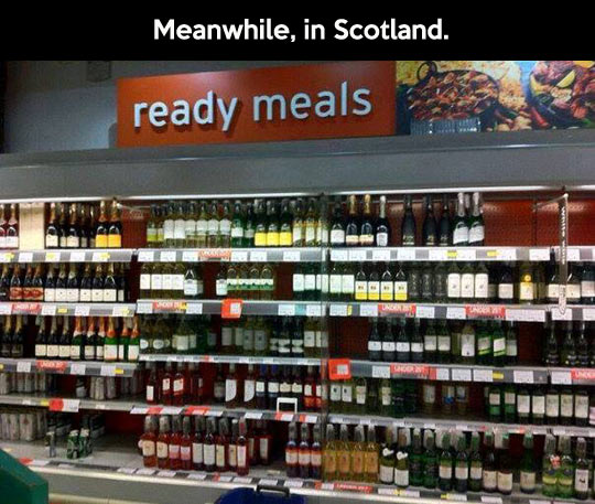 Scotland is a special place to live…