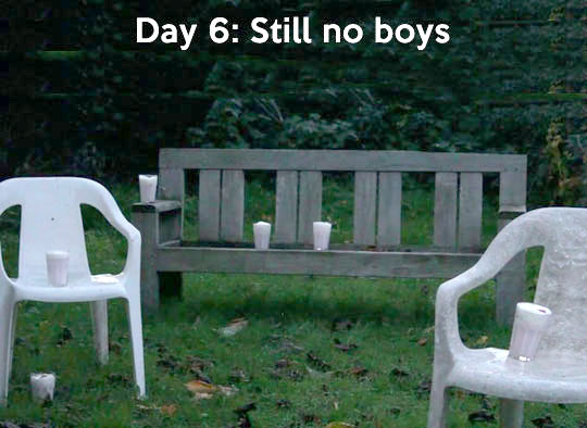 Still no boys…