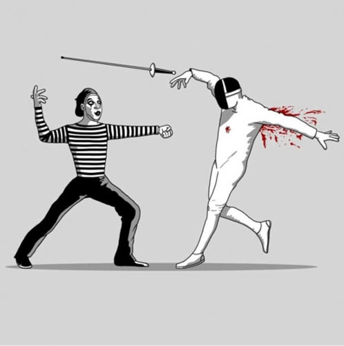 funny-mime-sword-fencing