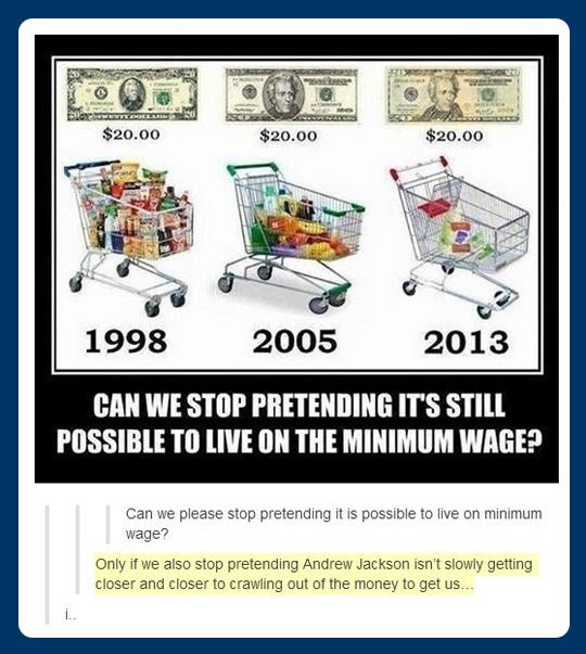 Minimum wage problems…