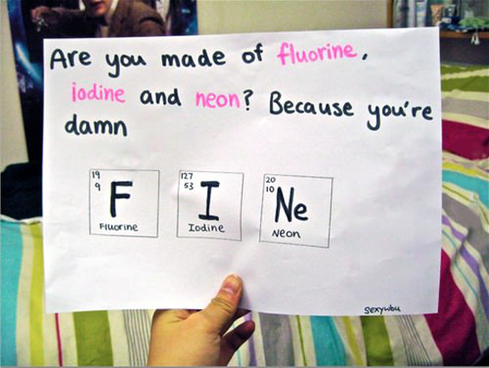 New periodic table elements pick up lines periodic table elements pick up lines urtaz Choice Image