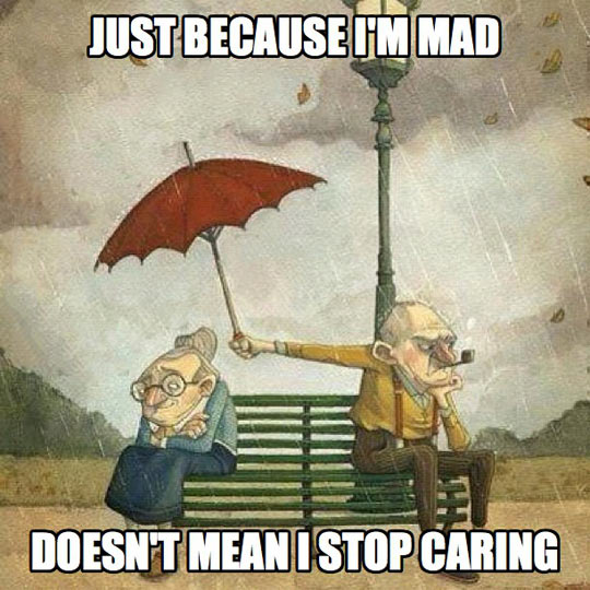 I may be mad but still…