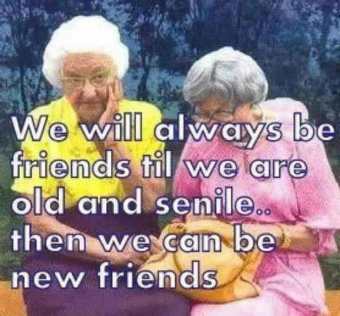 Our friendship is forever…