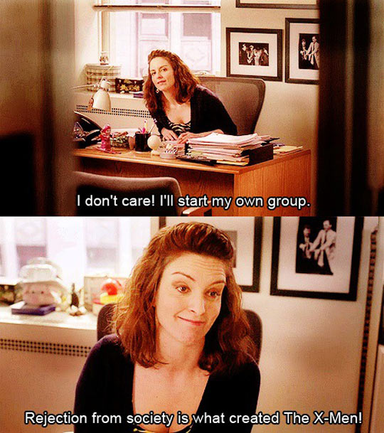 I'll start my own group…