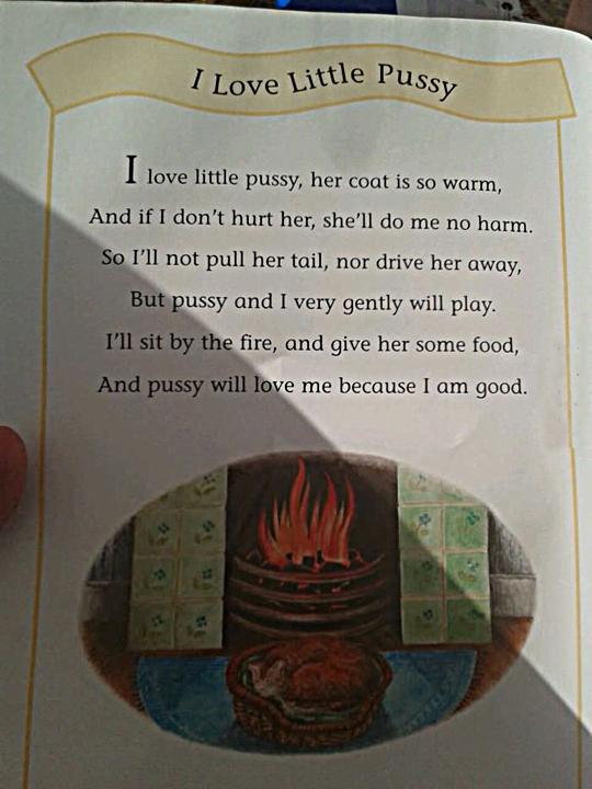 Found this in a children's book….