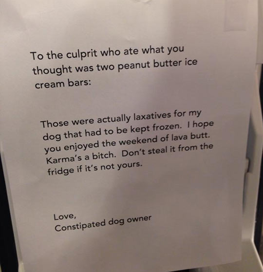 funny-peanut-butter-dog-laxative-note