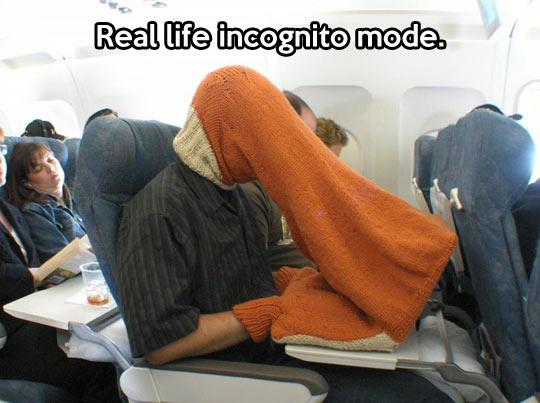 Incognito mode…