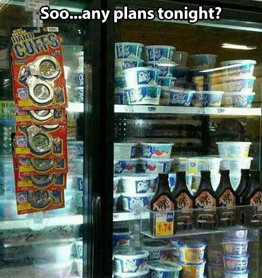 Plans tonight?