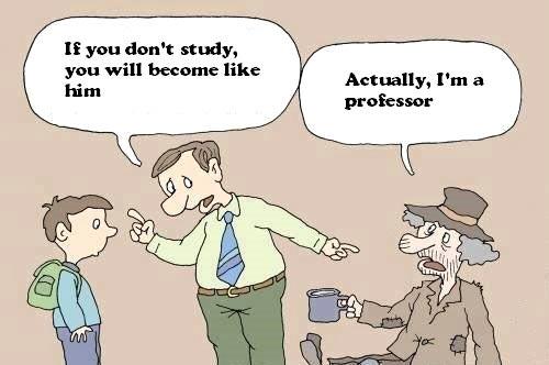 funny-poor-homeless-professor-cartoon