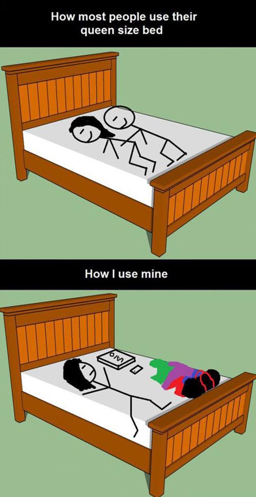 funny-queen-size-bed-girl-sleeping