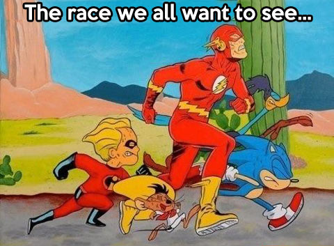 funny-race-Sonic-Flash