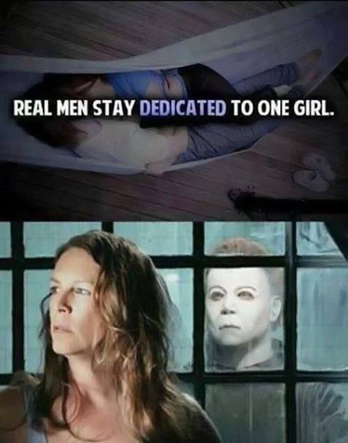 That's what real men do…