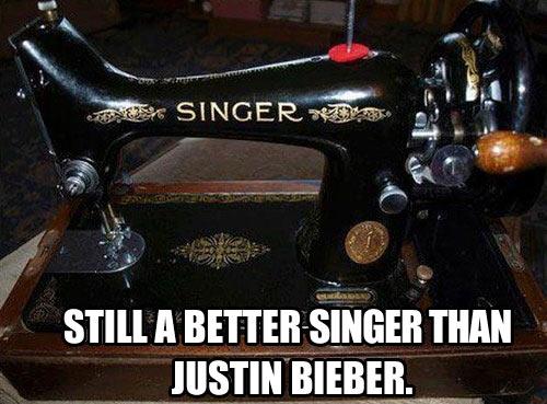 Singer sewing machines…