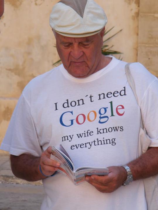 Google is not necessary…
