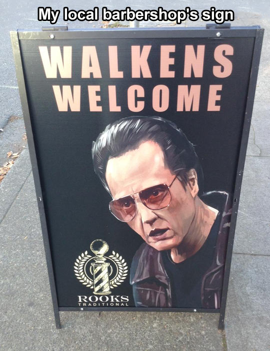 Walkens welcome…