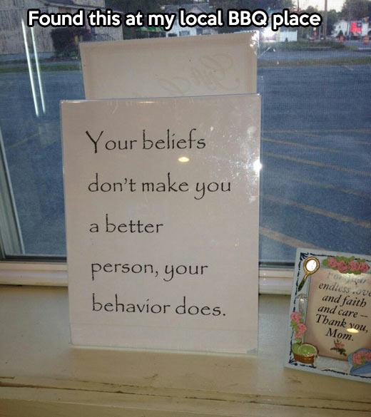 funny-sign-beliefs-behavior-quote