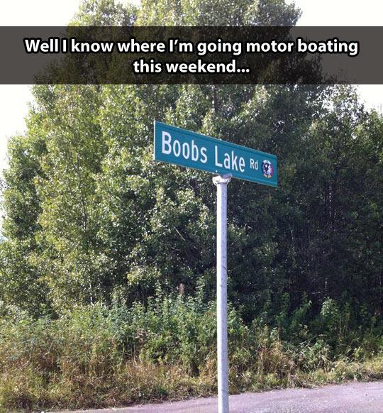 My type of lake…