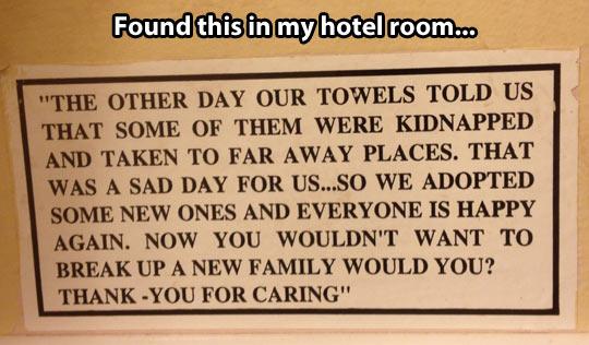 Please don't break a new family…